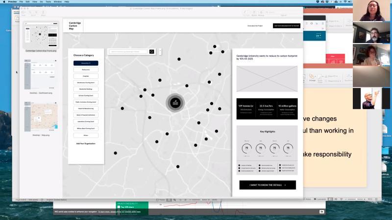 Paul Kahn runs a Data Visualisation workshop for CCM team