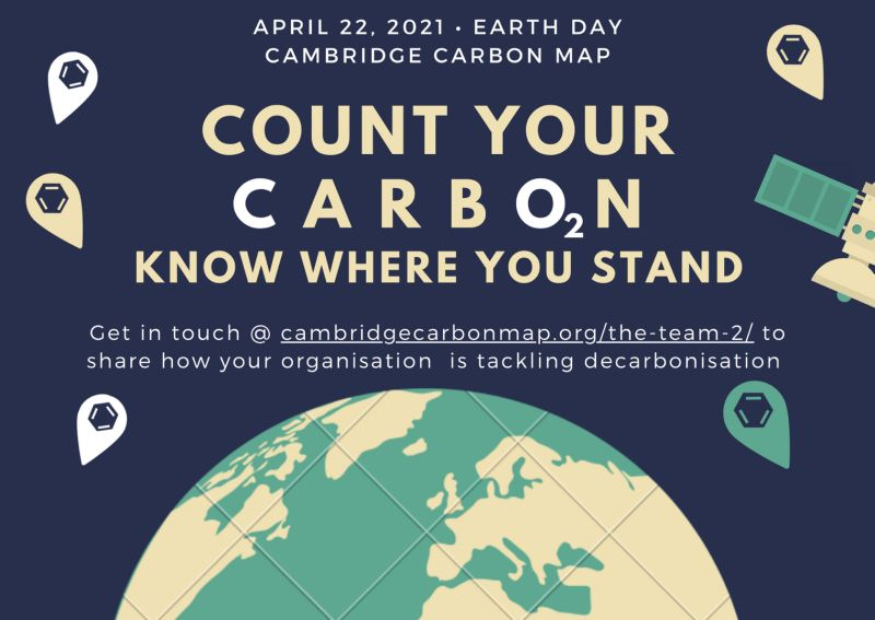 Carbon Map celebrates Earth Day